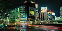 Tokyo v noci