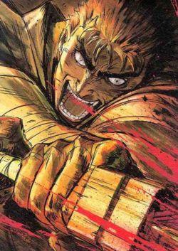 Hlavní hrdina seriálu Kenpū Denki Berserk