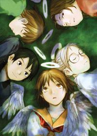 Hrdinové seriálu Haibane Renmei