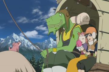 Brave Story - Wataru, Kee-Keema, Meena and Jozo
