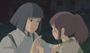 Chihiro a Haku - postavy z filmu Cesta do fantazie
