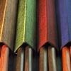 hůlky v obalech, různobarevná provedení