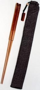 Hůlky s látkovým pouzdrem