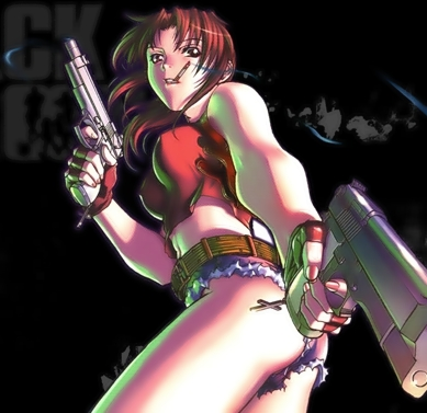Black Lagoon anime Wallpapers