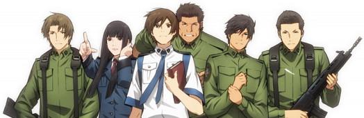 Toshokan Sensou Characters